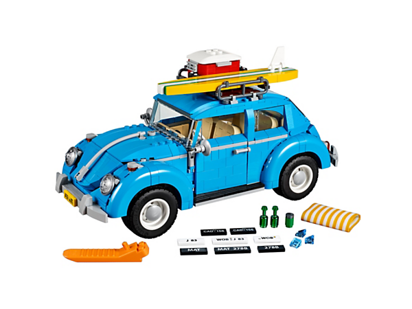 <p>Experience the iconic VW Beetle first hand with its classic curved lines, flat windshield, VW logo, 4-cylinder air-cooled engine, detailed interior and fun surfing theme.</p>