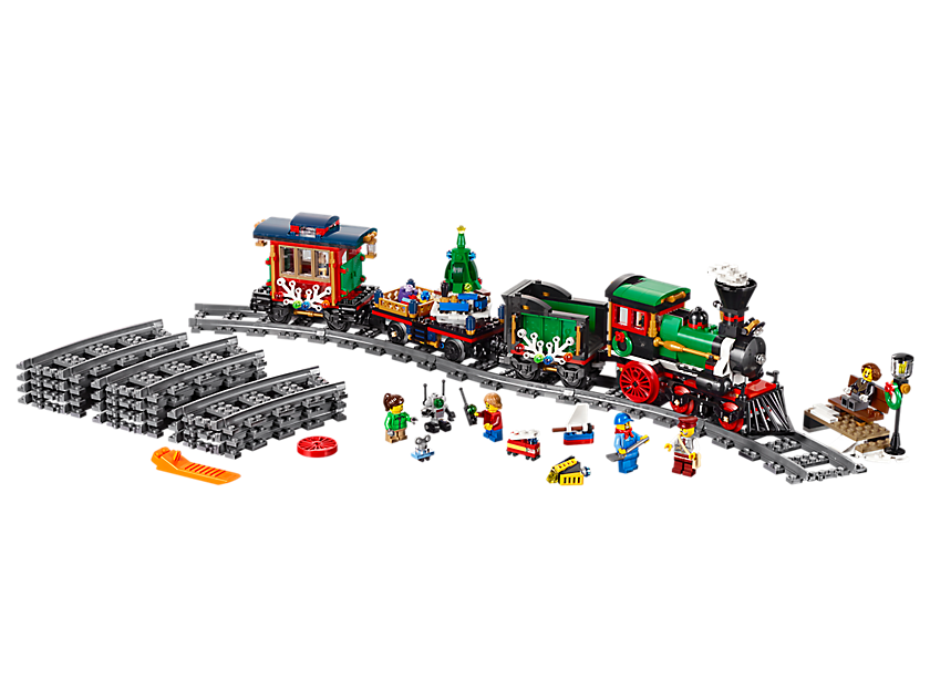 Lego Winter Holiday Train