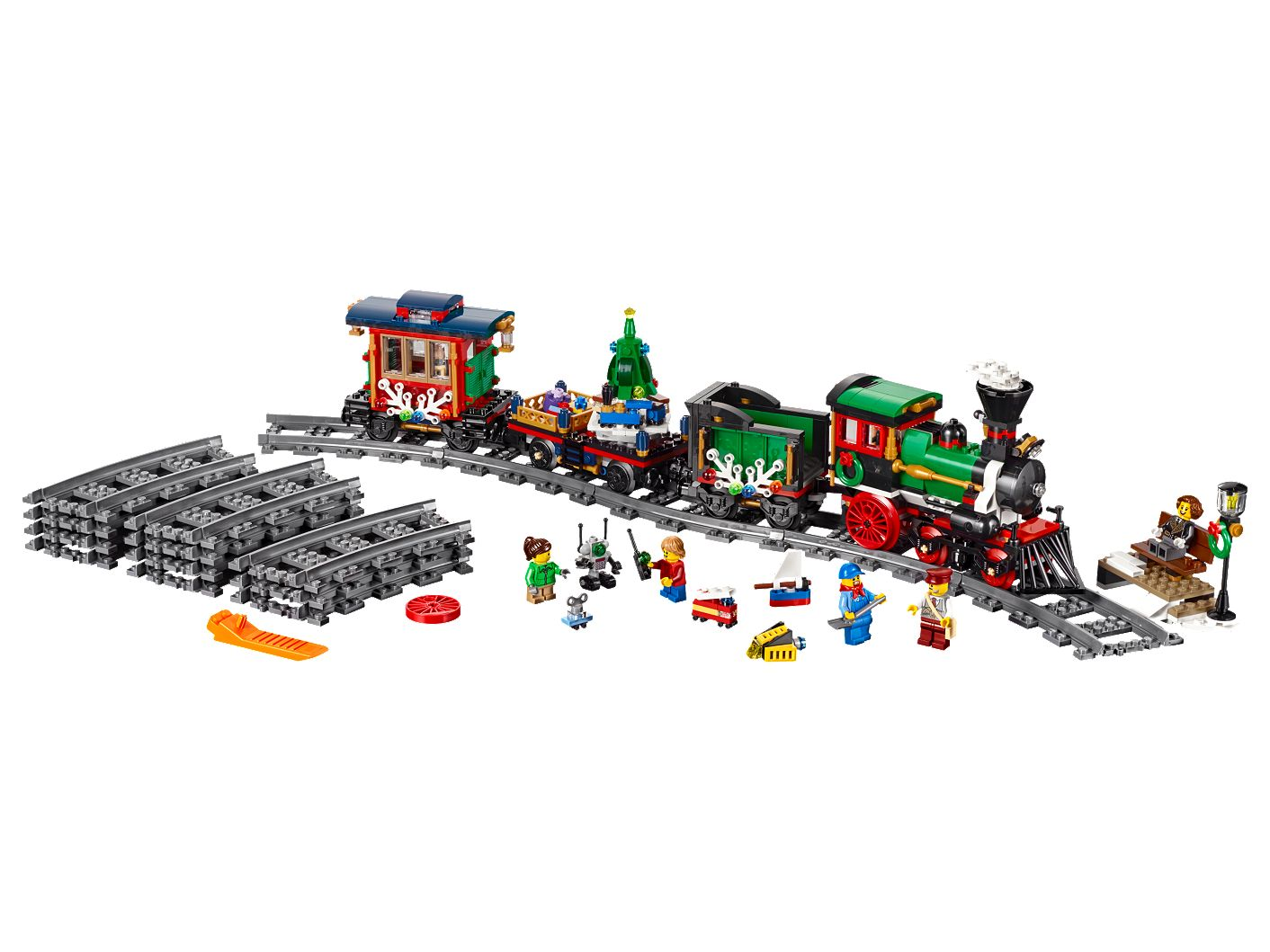 Wondrous Winter Holiday Train 10254 Creator Expert Buy Online At The Official Lego Shop Gb Machost Co Dining Chair Design Ideas Machostcouk
