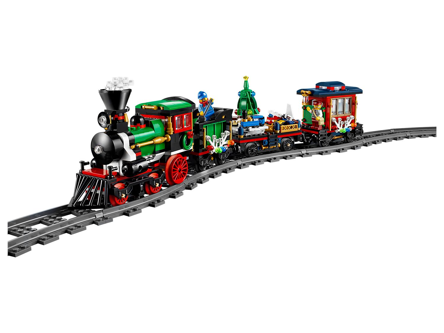 Winter Holiday Train 10254 | Creator Expert | Buy online at the Official  LEGO® Shop US