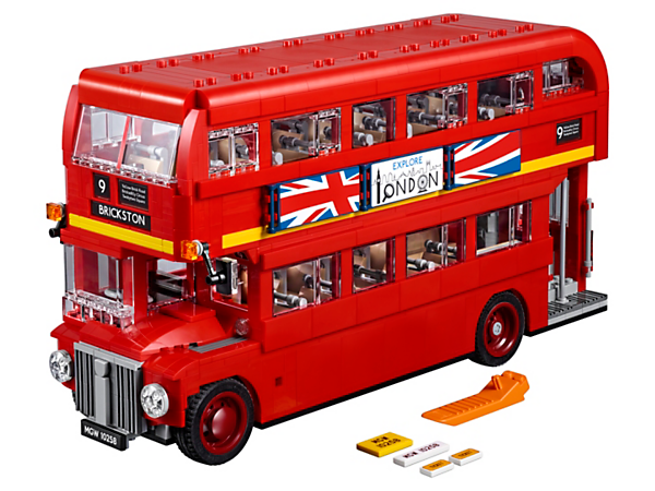 Enjoy a nostalgic journey with this highly authentic reproduction of the iconic London Bus, featuring classic curved bodywork, panoramic windscreen, specially made standard-tread tires and a detailed interior.