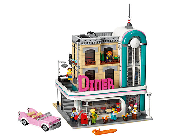 Downtown Diner 10260 Creator Expert Lego Shop