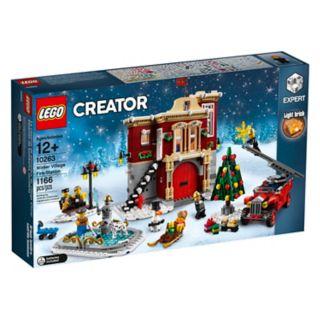 Parque de bomberos navideño