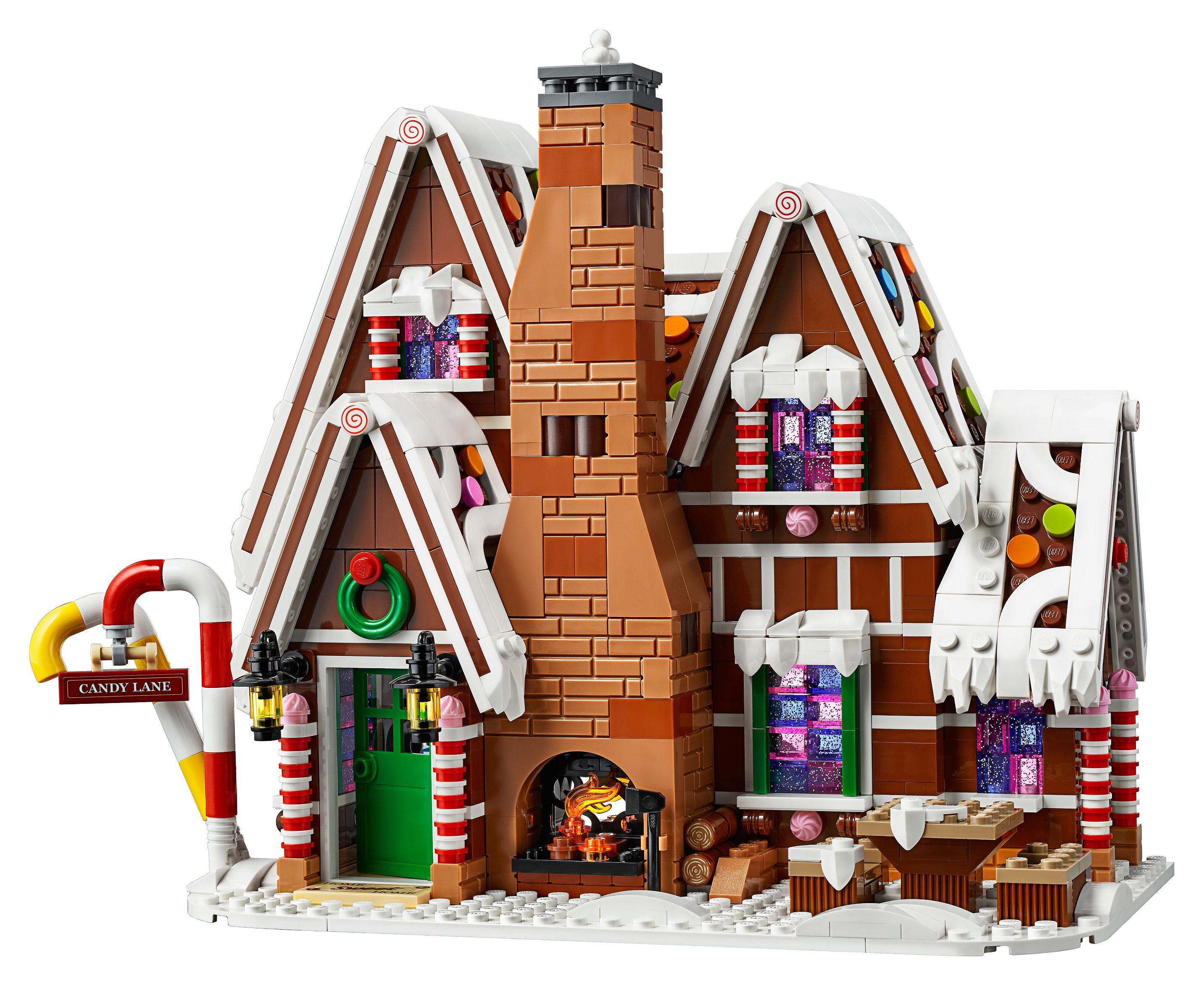 Christmas Houses.Gingerbread House 10267 Creator Expert Buy Online At The Official Lego Shop Us