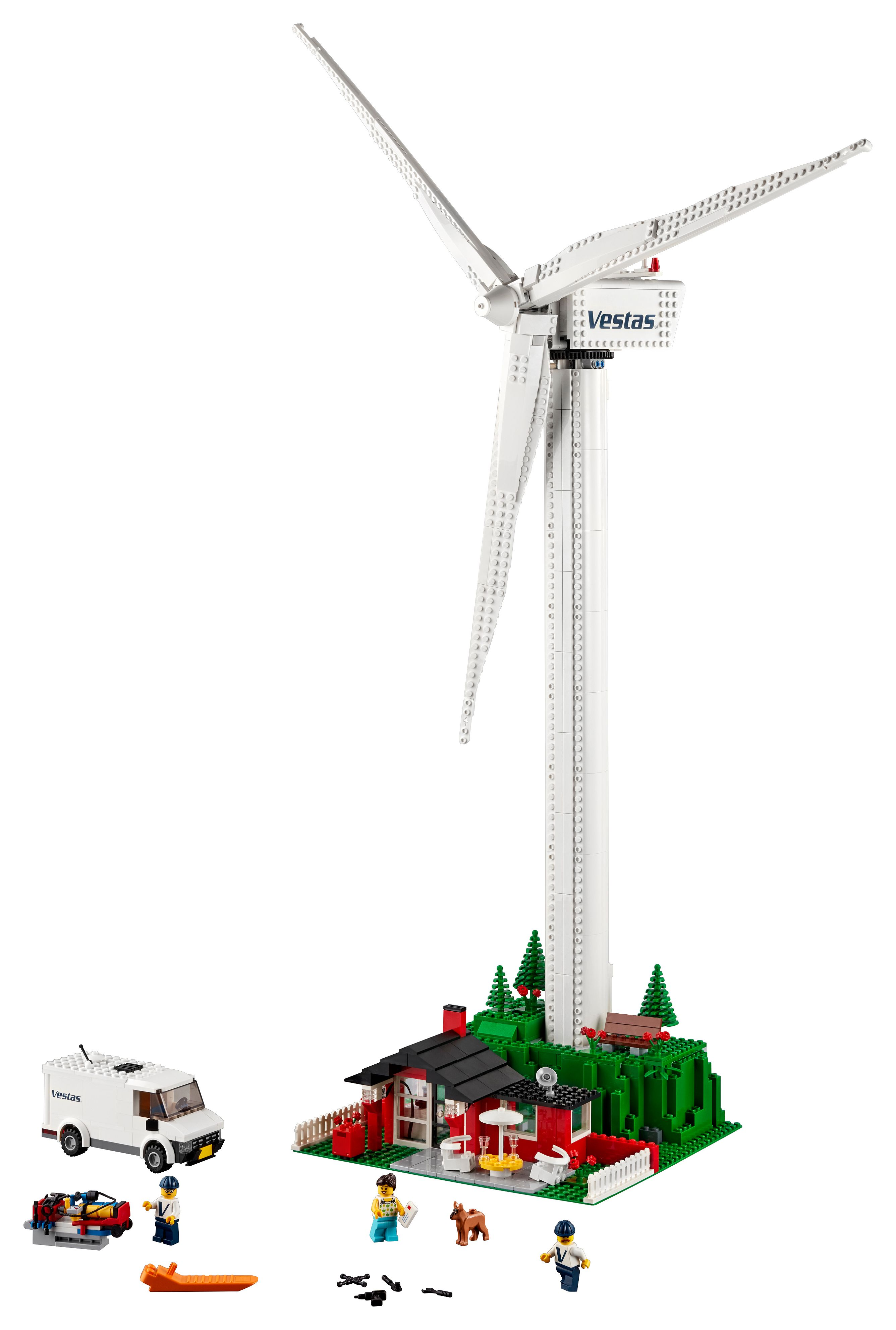 Vestas Wind Turbine 10268 | Creator Expert | Buy online at the Official  LEGO® Shop US