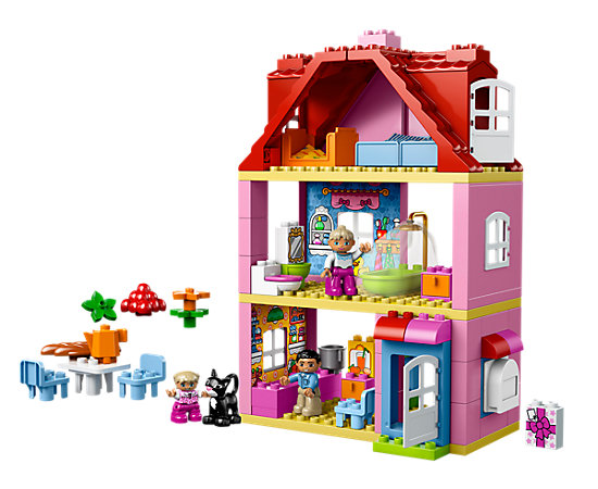 Familienhaus - 10505 | DUPLO® | LEGO Shop