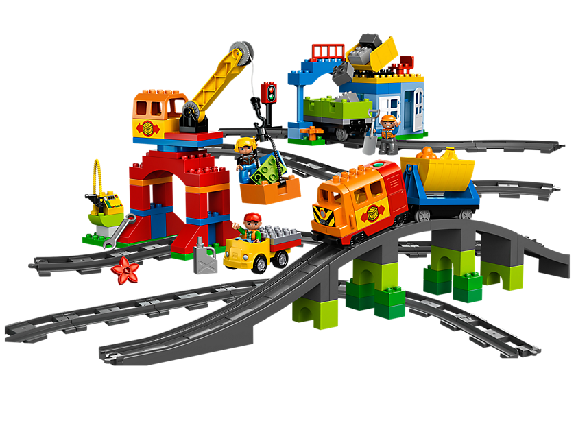 Lego Deluxe Train Set