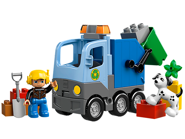 Explore product details and fan reviews for buildable toy Garbage Truck 10519 from DUPLO Town. Buy today with The Official LEGO® Shop Guarantee.