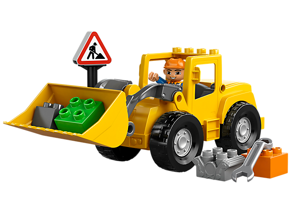 Explore product details and fan reviews for buildable toy Big Front Loader 10520 from DUPLO Town. Buy today with The Official LEGO® Shop Guarantee.