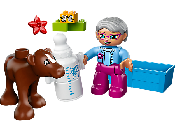 Explore product details and fan reviews for buildable toy Baby Calf 10521 from DUPLO®. Buy today with The Official LEGO® Shop Guarantee.