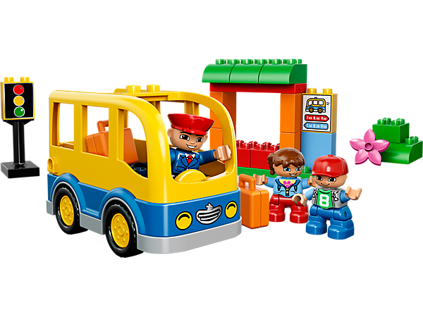 Explore product details and fan reviews for buildable toy School Bus 10528 from DUPLO Town. Buy today with The Official LEGO® Shop Guarantee.
