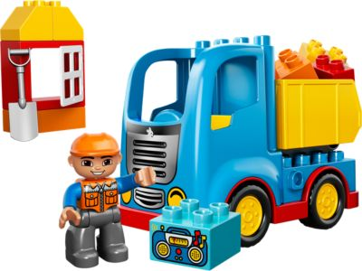 Explore product details and fan reviews for buildable toy Truck 10529 from DUPLO®. Buy today with The Official LEGO® Shop Guarantee.