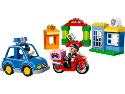 Explore product details and fan reviews for buildable toy My First Police Set 10532 from DUPLO®. Buy today with The Official LEGO® Shop Guarantee.