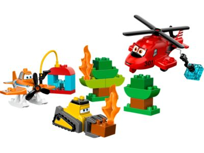 Explore product details and fan reviews for Fire and Rescue Team 10538 from DUPLO Planes™. Buy today with The Official LEGO® Shop Guarantee.