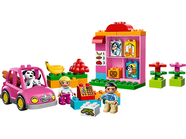 Explore product details and fan reviews for buildable toy My First Shop 10546 from DUPLO®. Buy today with The Official LEGO® Shop Guarantee.