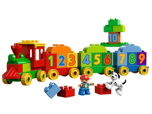 Number Train 10558 Duplo Lego Shop