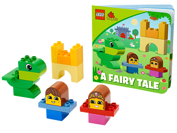 Build along to an illustrated book and create the story, using big beginner bricks with A Fairy Tale from LEGO® DUPLO® Bricks & Books!