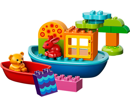 Toddler Build and Boat Fun - 10567 | DUPLO® | LEGO Shop