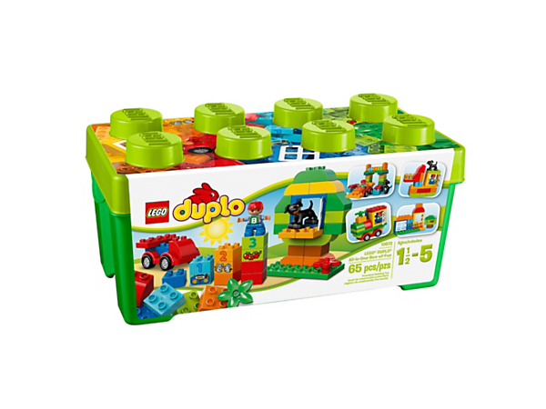 Explore product details and fan reviews for buildable toy LEGO® DUPLO® All-in-One-Box-of-Fun 10572 from DUPLO Creative Play. Buy today with The Official LEGO® Shop Guarantee.