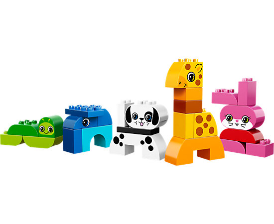 Creative animals 10573 duplo lego shop for Modele maison lego duplo