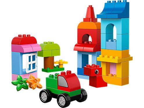 Le cube de construction créative LEGO® DUPLO® - 10575 | DUPLO ...