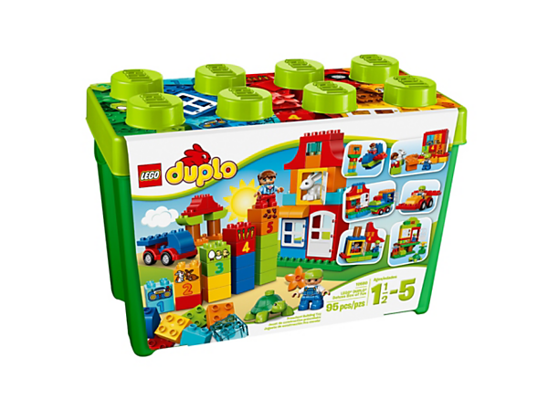 Explore product details and fan reviews for buildable toy LEGO® DUPLO® Deluxe Box of fun 10580 from DUPLO My First. Buy today with The Official LEGO® Shop Guarantee.