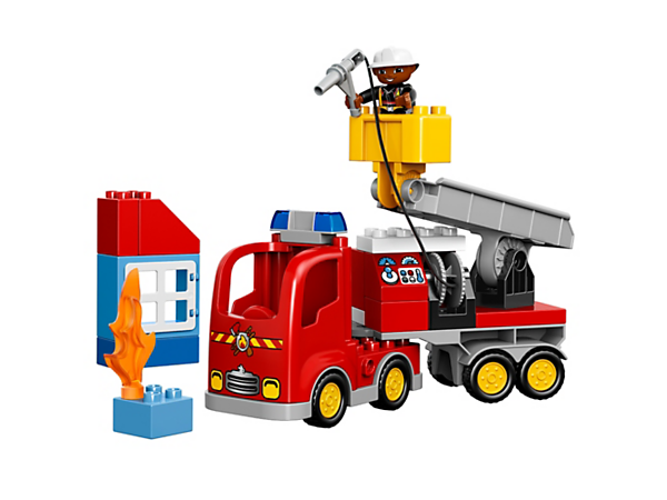 Explore product details and fan reviews for Fire Truck 10592 from DUPLO Town. Buy today with The Official LEGO® Shop Guarantee.