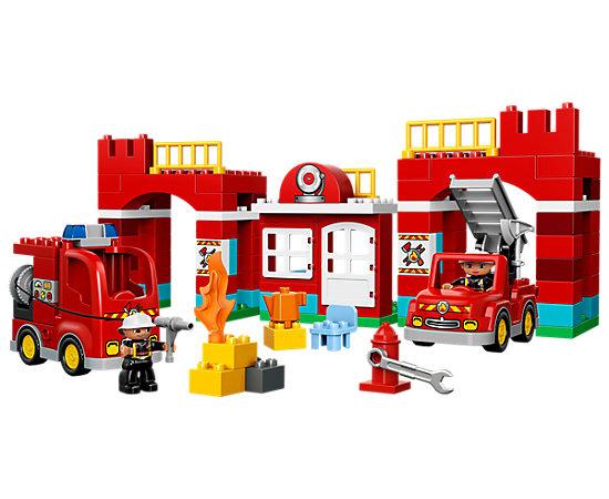 Fire Station - 10593   DUPLO®   LEGO Shop