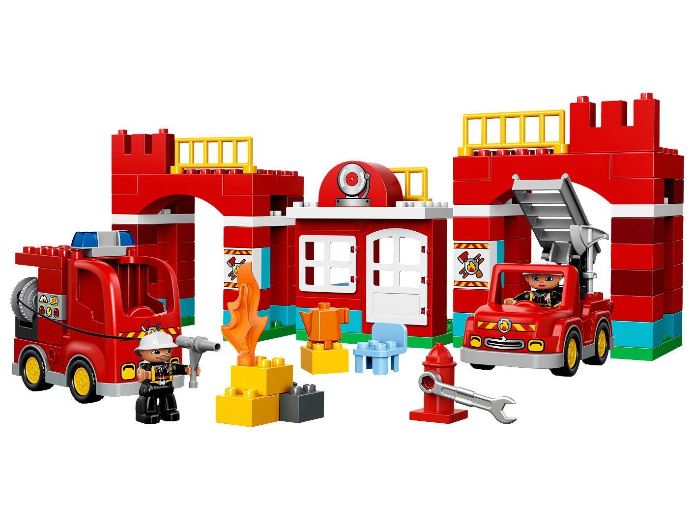 Feuerwehr Hauptquartier 10593 Duplo Lego Shop