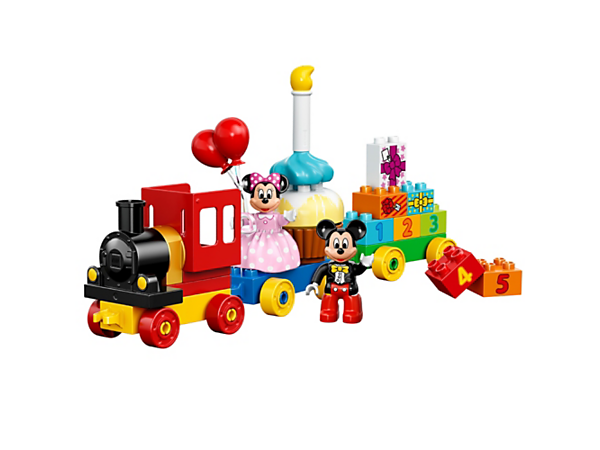 Explore product details and fan reviews for Mickey & Minnie Birthday Parade 10597 from DUPLO Disney TM. Buy today with The Official LEGO® Shop Guarantee.