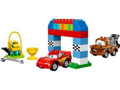 Disney Pixar Cars™ Classic Race - 10600 | DUPLO® | LEGO Shop