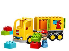 LEGO® DUPLO® Lastwagen mit Anhänger