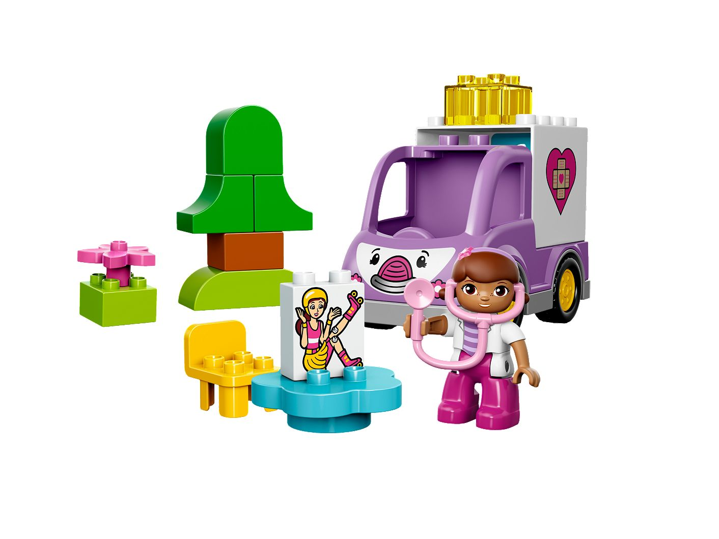 Doc Mcstuffins Rosie The Ambulance 10605 Duplo Lego Shop