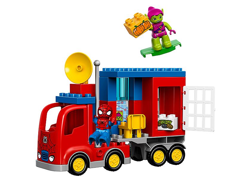 Lego Spider - man Spider Truck Adventure