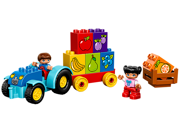 <p>Explore product details and fan reviews for My First Tractor 10615 from DUPLO®. Buy today with The Official LEGO® Shop Guarantee. </p>