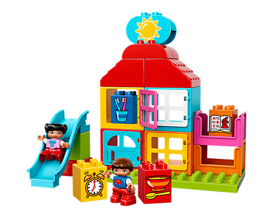 My first playhouse 10616 duplo lego shop for Modele maison lego duplo