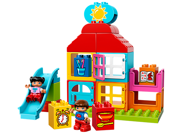 <p>Explore product details and fan reviews for My First Playhouse 10616 from DUPLO®. Buy today with The Official LEGO® Shop Guarantee. </p>
