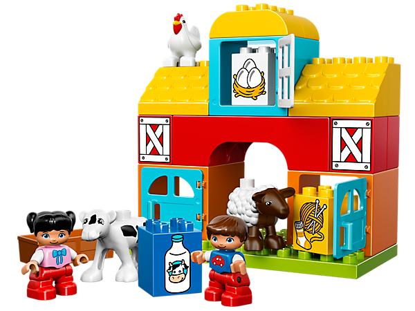 <p>Explore product details and fan reviews for My First Farm 10617 from DUPLO®. Buy today with The Official LEGO® Shop Guarantee. </p>