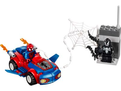 Explore product details and fan reviews for buildable toy Spider-Man™: Spider-Car Pursuit 10665 from Juniors. Buy today with The Official LEGO® Shop Guarantee.
