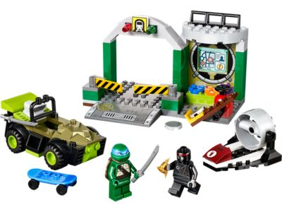 Explore product details and fan reviews for buildable toy Turtles Lair 10669 from Juniors. Buy today with The Official LEGO® Shop Guarantee.