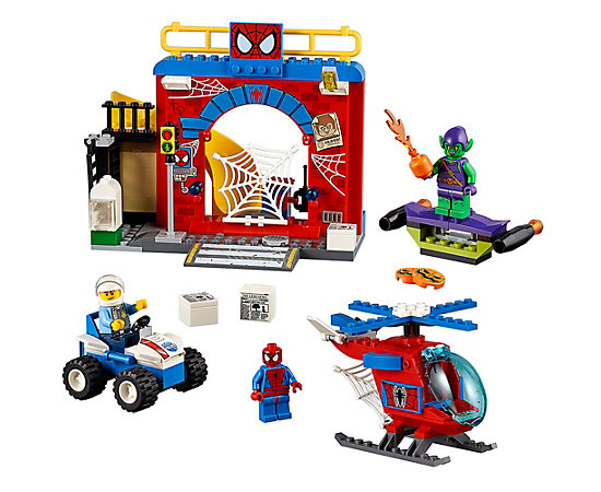 Lego Junior Spiderman Helicopter Instructions Helicopter And