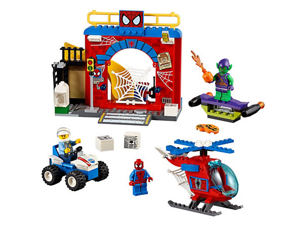 Explore product details and fan reviews for Spider-Man™ Hideout 10687 from Juniors. Buy today with The Official LEGO® Shop Guarantee.