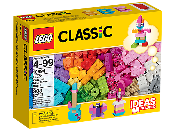 <p>Explore product details and fan reviews for LEGO® Creative Supplement Bright 10694 from LEGO® Classic. Buy today with The Official LEGO® Shop Guarantee. </p>
