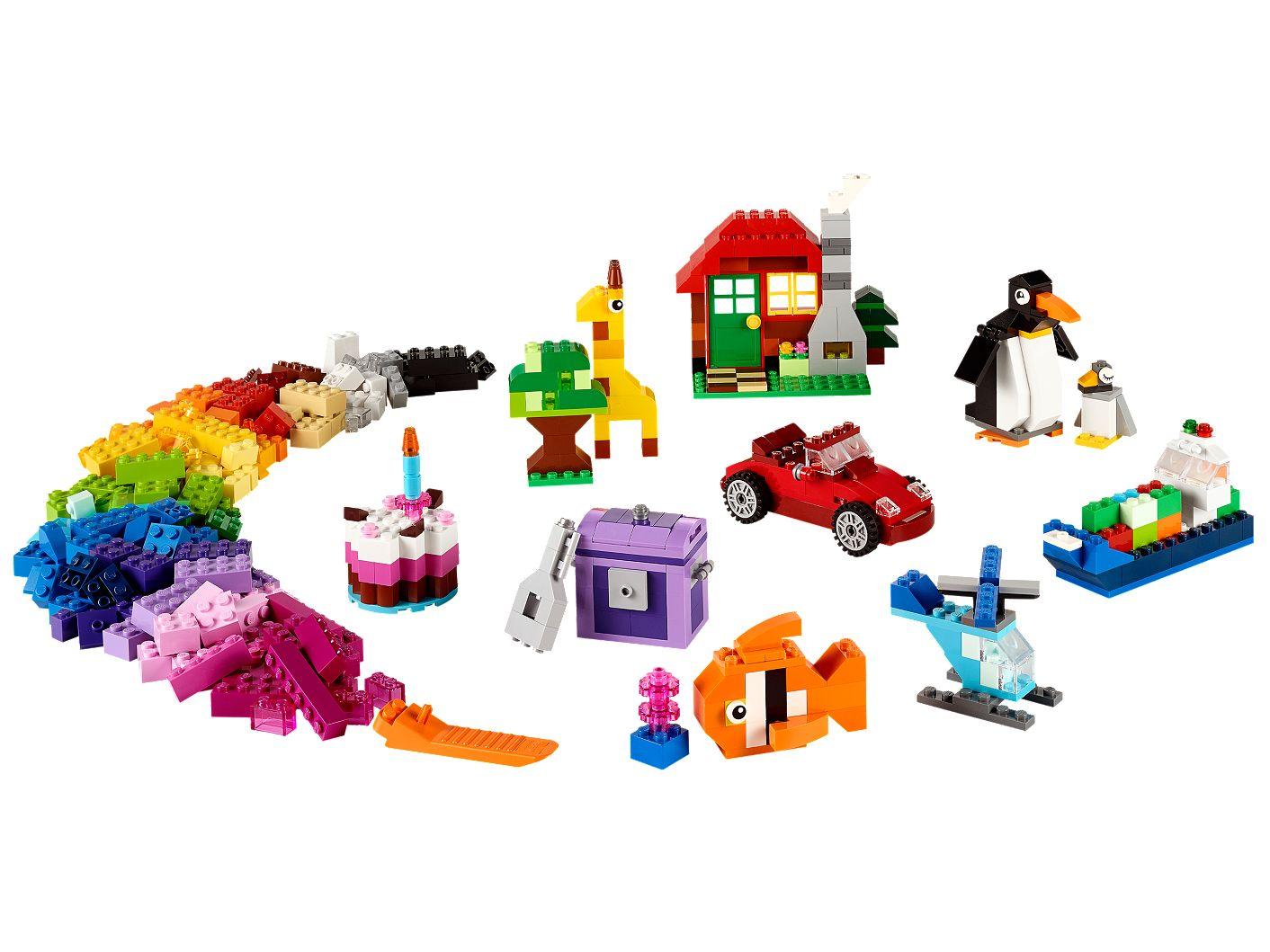 günstig kaufen LEGO Classic Bausteine-Box 10695