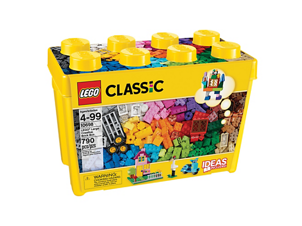 <p>Explore product details and fan reviews for LEGO® Large Creative Brick Box 10698 from LEGO® Classic. Buy today with The Official LEGO® Shop Guarantee. </p>