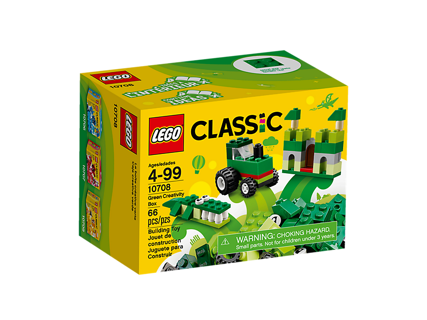 Lego Green Creativity Box