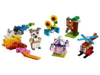 La boîte de briques et d'engrenages LEGO