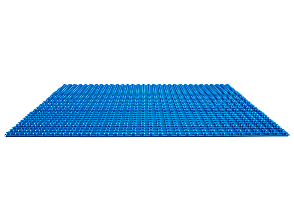 Create a seaside town, sunny swimming pool or whatever else you can imagine with this blue 32x32-stud baseplate—the perfect starting point for your LEGO® creations.