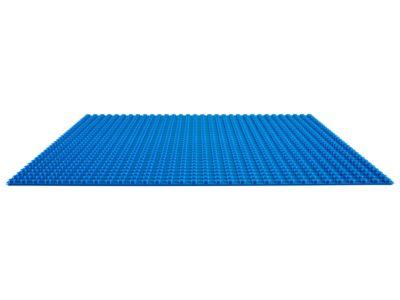La plaque de base bleue