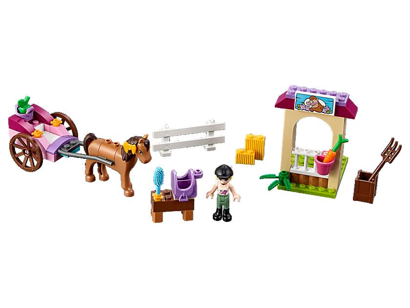 Lego Stephanie's Horse Carriage